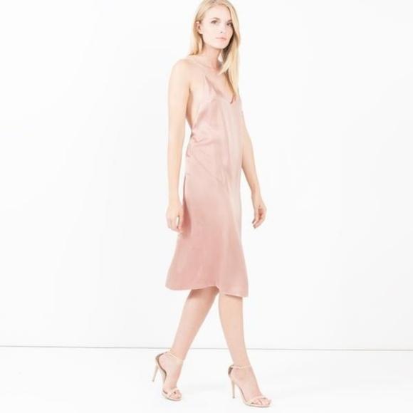 225fe4b575153 Modern Citizen Dresses   V Necklow Back Slip Dress   Poshmark